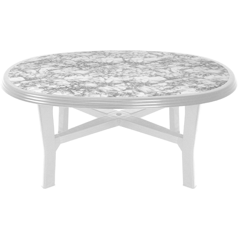 gartentisch kunststoff wei oval latest gartentisch bali holzoptik kunststoff xcm wei u bild. Black Bedroom Furniture Sets. Home Design Ideas