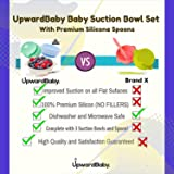 4 Piece Silicone Baby Bowls Set with Guaranteed