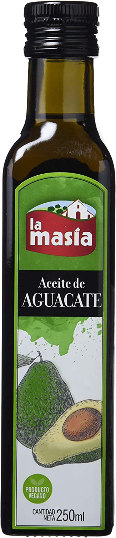 La Masia - Aceite de aguacate, 250 ml - Lot de 4