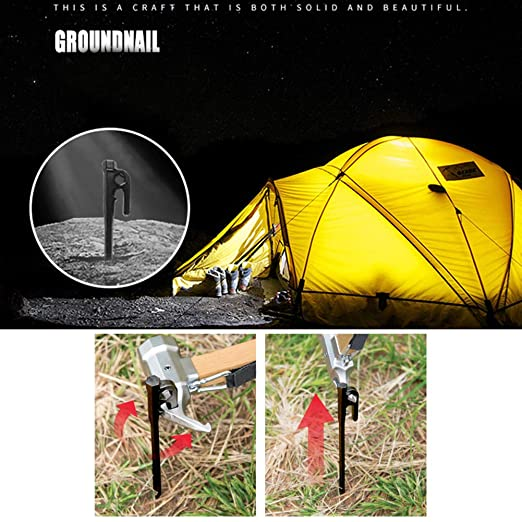 20//25//30cm Heavy Duty Stainless Steel Outdoor Tent Stakes Pegs Nails New