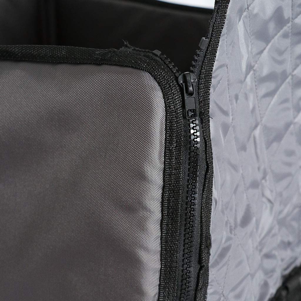 B Blesiya Hunde Autositz 50x46x56cm Hundesitz Auto Sitzbezug Hundekorb Schondecke Wasserfeste Autoschutzdecke f/ür Vordersitz