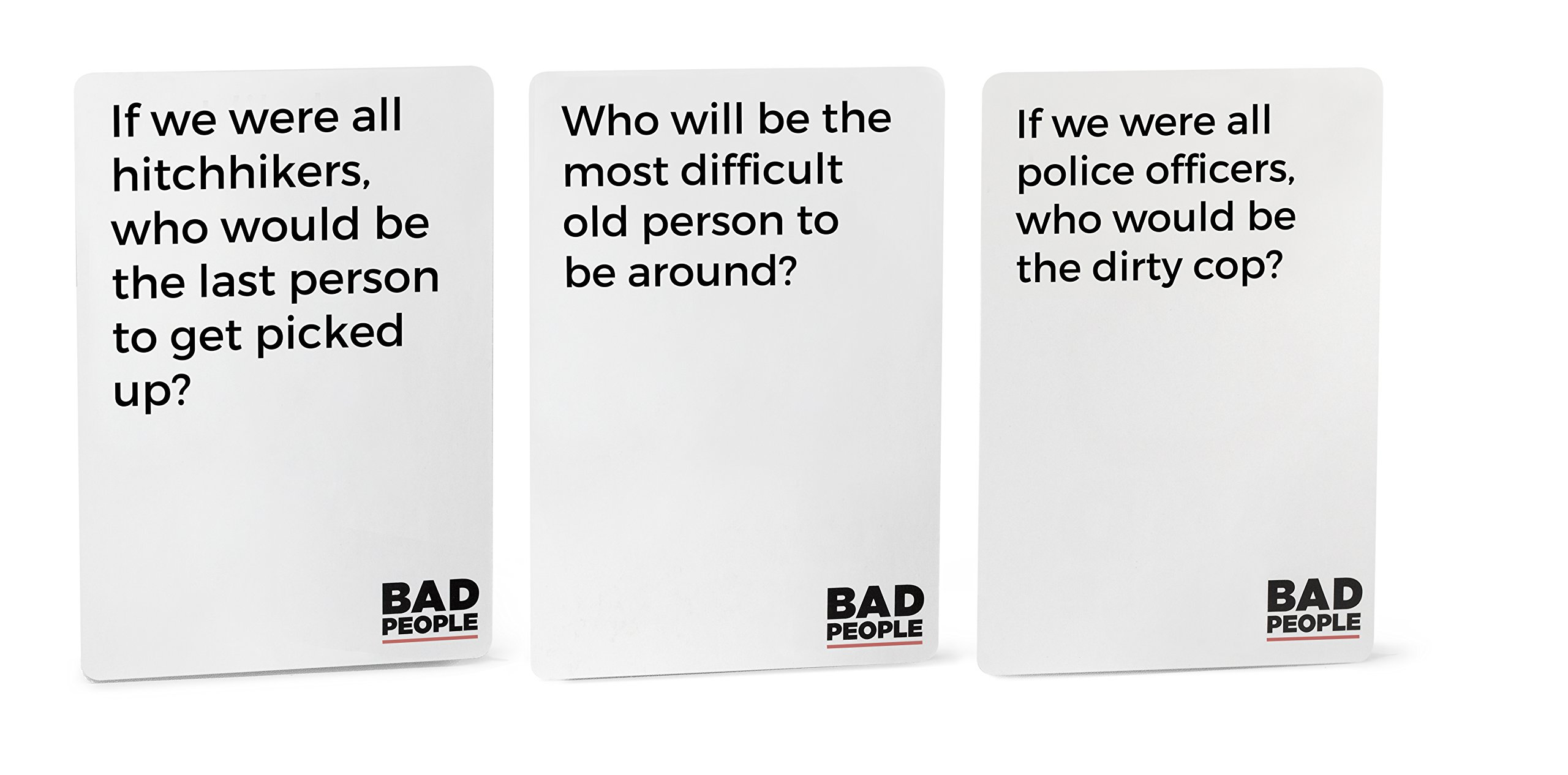 BAD PEOPLE - The Savage Party Game You Probably Shouldn't Play + The NSFW Brutal Expansion Pack
