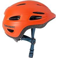 Retrospec Scout-1 Casco de Bicicleta y Patinaje Juvenil para niños y niñas, Aprobado por la CPSC para niños