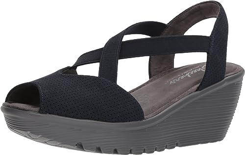 Details about Skechers Womens Sandals Wedges Platforms Toe