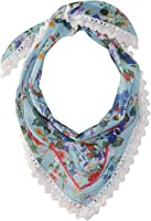 Steve Madden Women's Dolce Floral Triangle Neckerchief