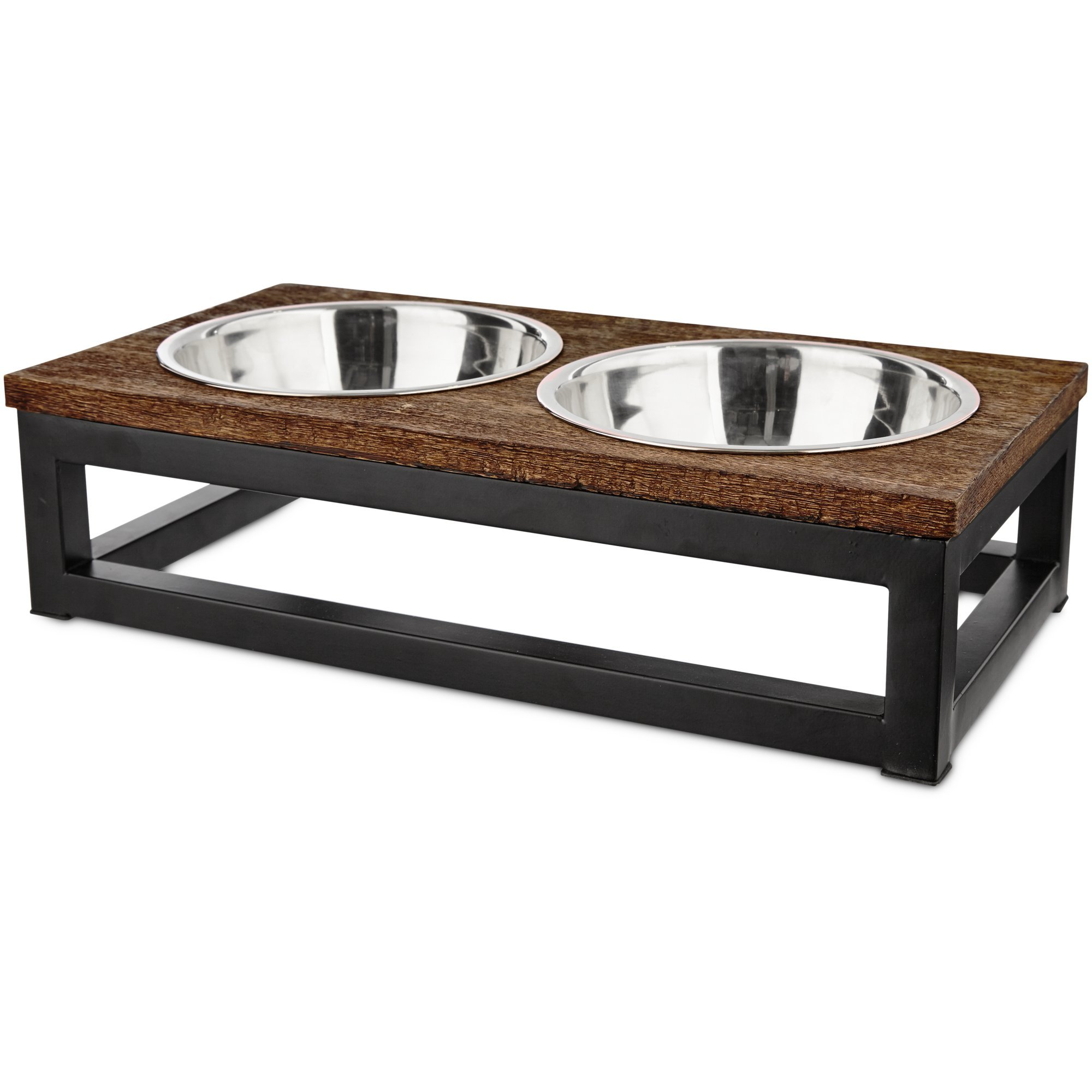 HARMONY Elevated Dog Bowl Double Diner, 3 Cup, Medium by HARMONY