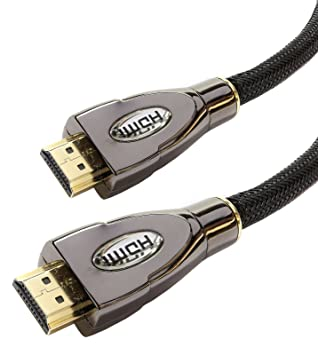 Laptone - Cable HDMI 1.4a de alta velocidad con Ethernet, compatible con Full HD