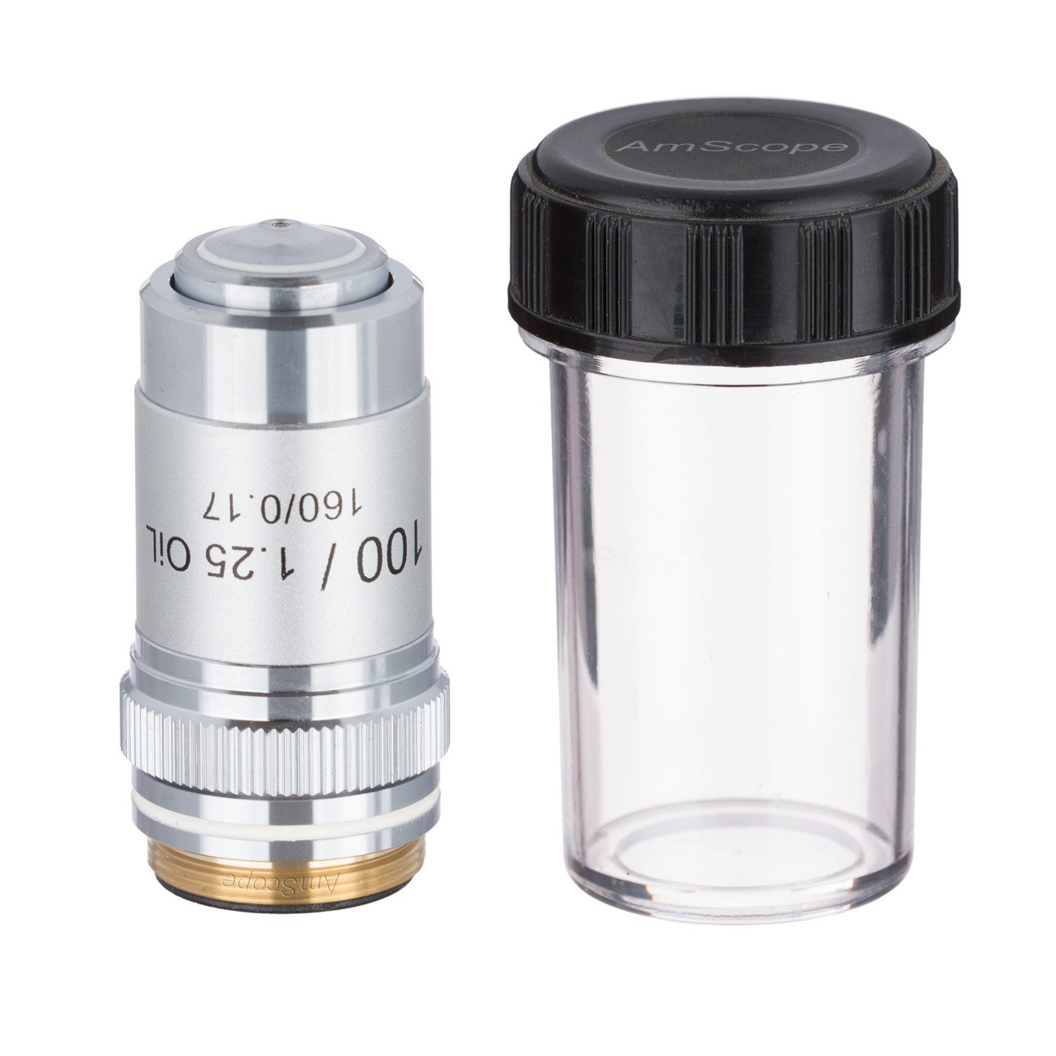 AmScope A100X 100X (Oil) Achromatic Microscope Objective by AmScope