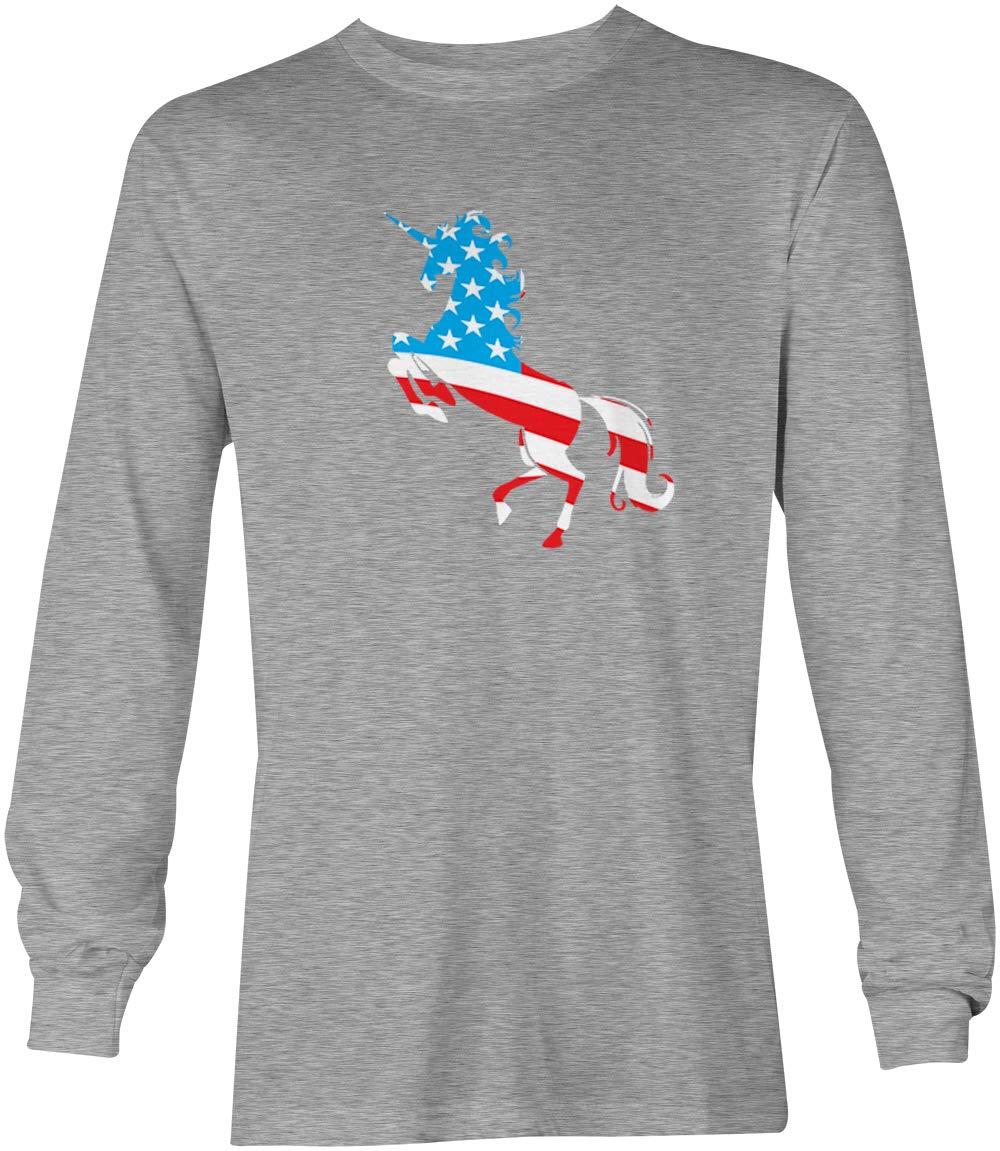 American Unicorn Silhouette Usa Murica Shirt 5766