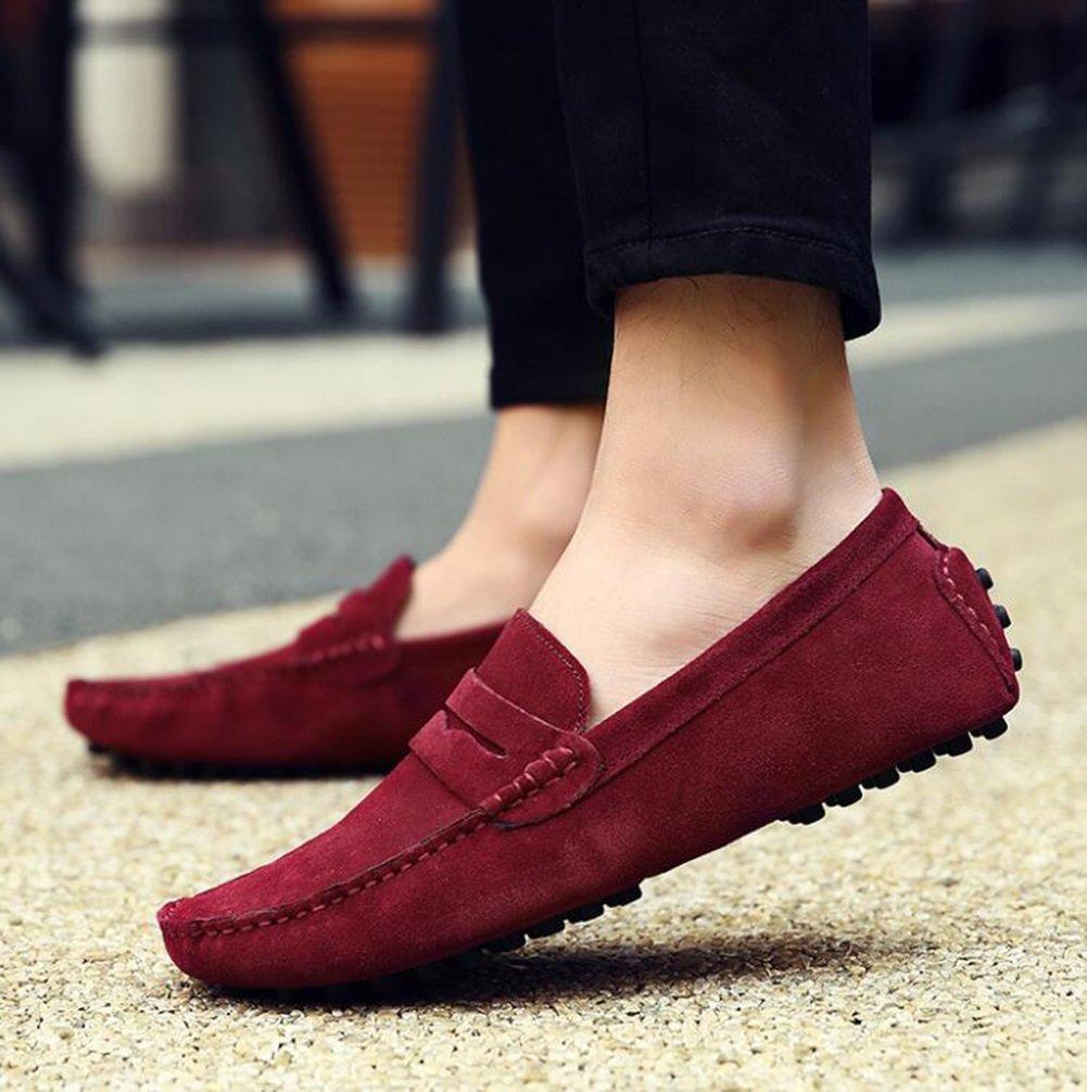 CAI Frauen Schuhe Flache Ferse Schuhe 2018 2018 2018 Männer und Frauen Leder Erbsen Schuhe Herrenschuhe British LUN Freizeitschuhe Outdoor-Reisen Tägliche Schuhe (Farbe   008, Größe   47) 0f6582