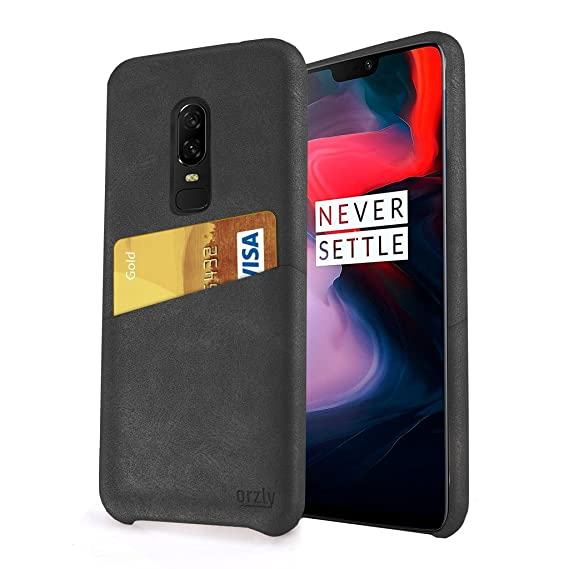 wholesale dealer 984ca 7fd05 Amazon.com: Orzly OnePlus 6 Case Lux Grip Card Case for The OnePlus6 ...