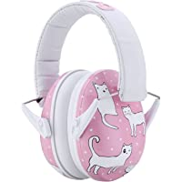 Snug Kids Earmuffs / Best Hearing Protectors – Adjustable Headband Ear Defenders For Children and Adults Cats)