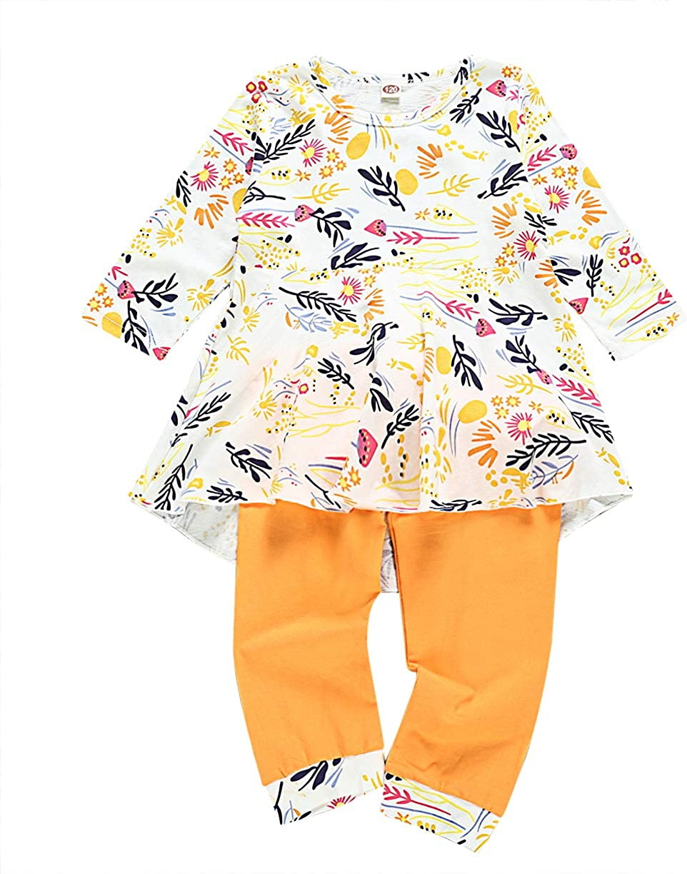 Jurebecia Toddler Newborn Baby Boy Clothes Long Sleeve Letter Print Romper+Long Pants+Hat 3PCS Outfits Set