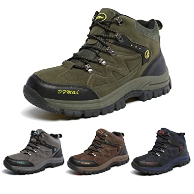 798b6371edf J&T Walking Shoes Men's Low Rise Hiking Shoes Sports Outdoor Waterproof  Shoes Jungle Mens Trekking Shoes with Extra Cushioning