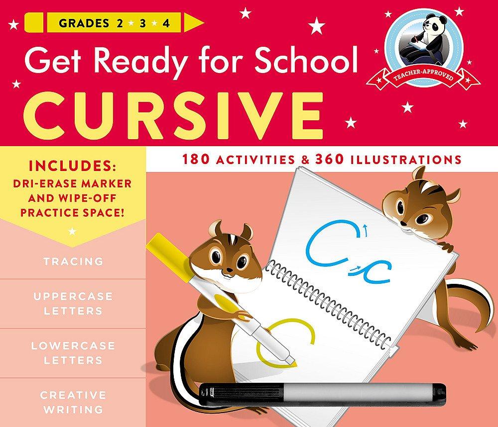 Get Ready for School Cursive: Heather Stella: 9780316502511 ...