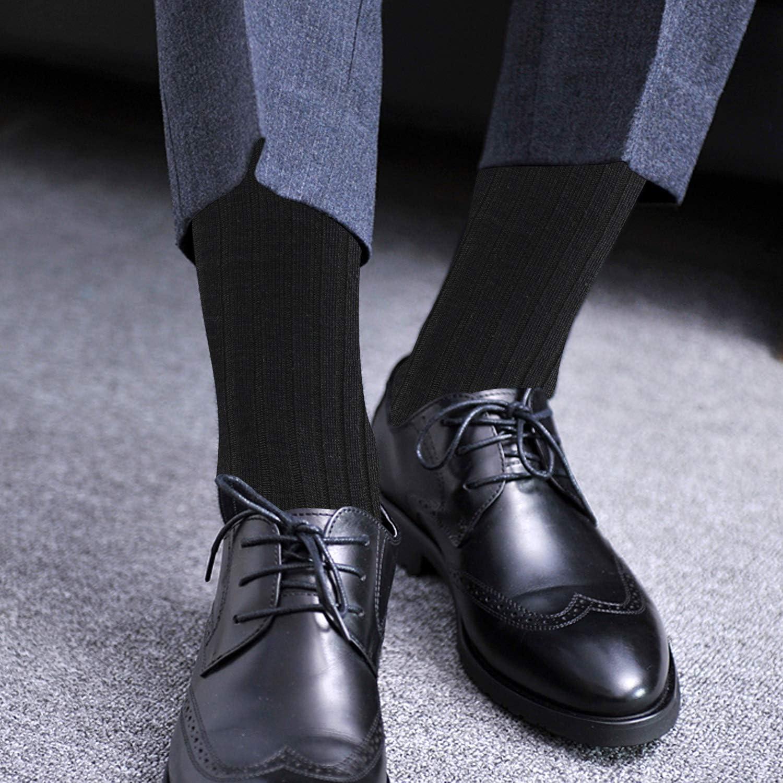 【新品】靴下 メンズ ビジネス ソックス 抗菌防臭 紳士 吸汗通気 ハイソックス 耐久性 ギフトボックス 蒸れない 天然綿