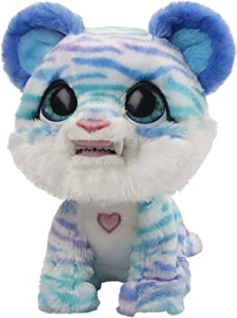 furReal North The Sabertooth Kitty Interactive Plush Pet Toy, 35+ Sound & Motion Combinations, Ages 4 and Up