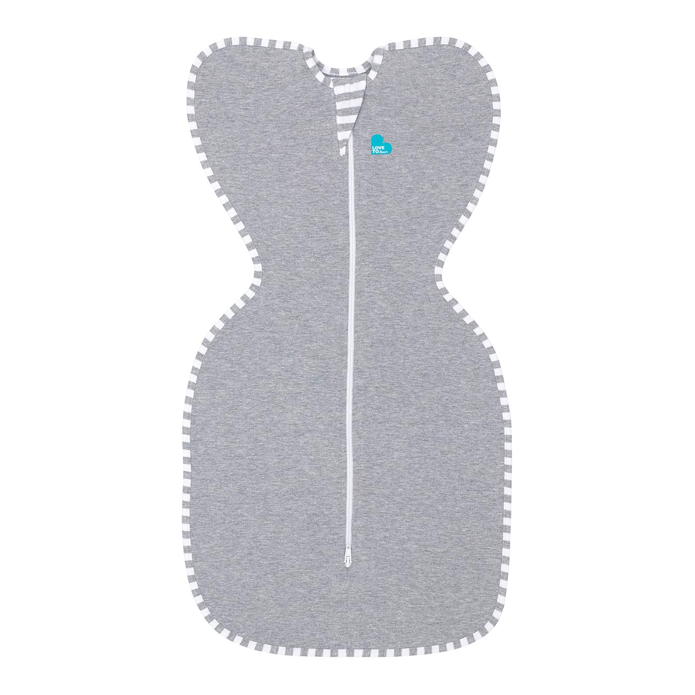 Love To Dream Swaddle UP, Gray, Small, 7-13 lbs, Dramatically Better Sleep, Allow Baby to Sleep in Their Preferred arms up Position for self-Soothing, snug fit Calms Startle Reflex by Love to Dream