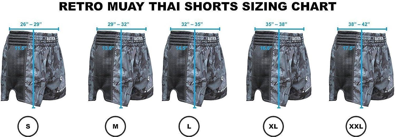 Thai Boxing 10+ Styles Reckoner Retro Muay Thai Shorts Anthem Athletics New Kickboxing
