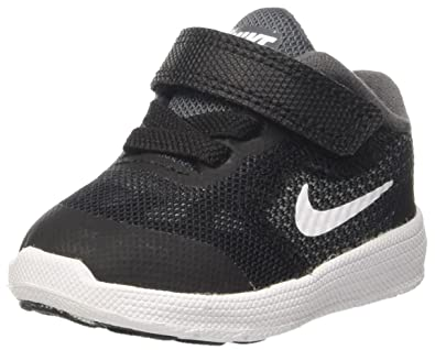 f1ff619571 Nike Revolution 3 Tdv, Boys' Sneakers, Grey (Dark Grey/white/black ...