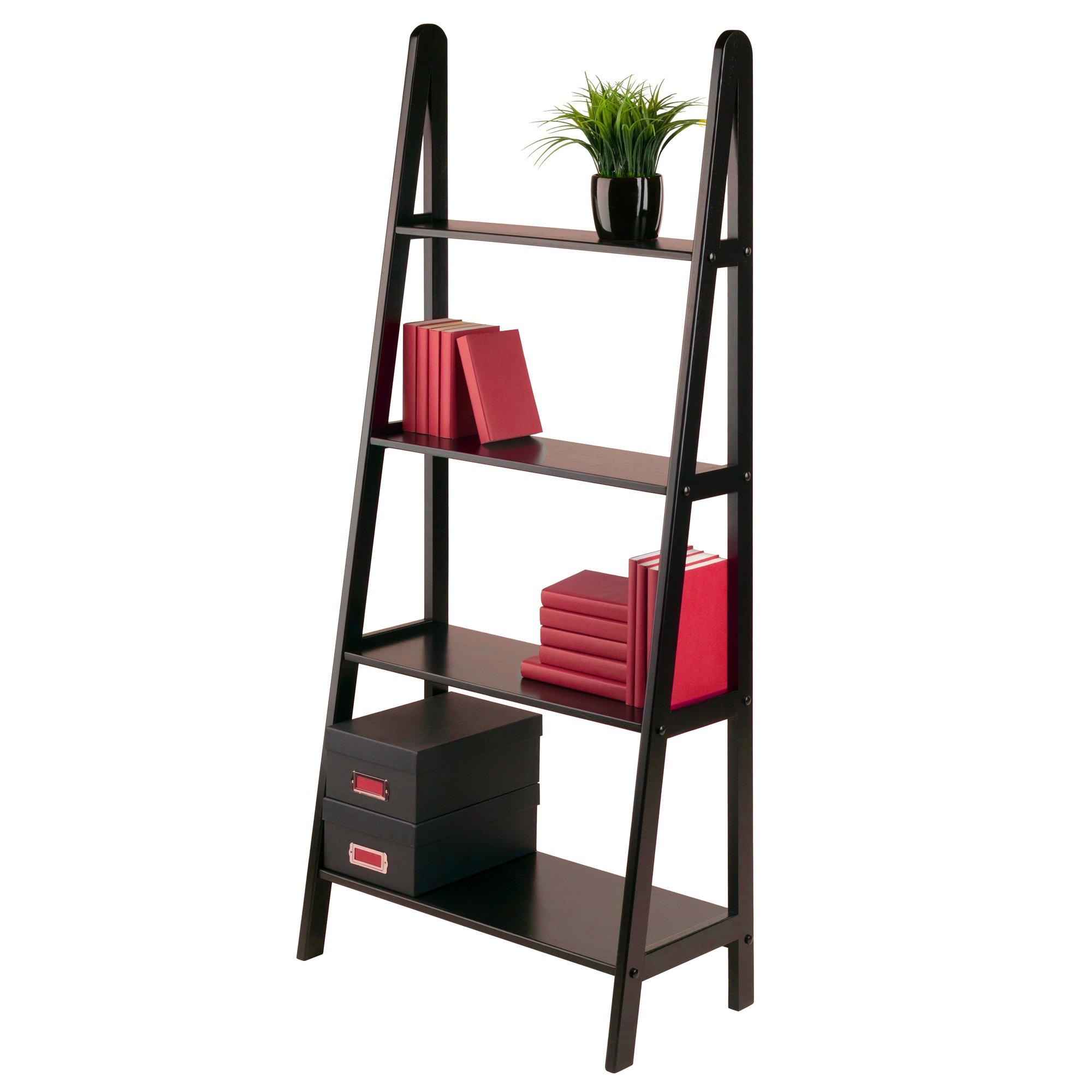 Winsome Wood 4-Tier A-Frame Shelf, Dark Espresso by Winsome Wood (Image #7)