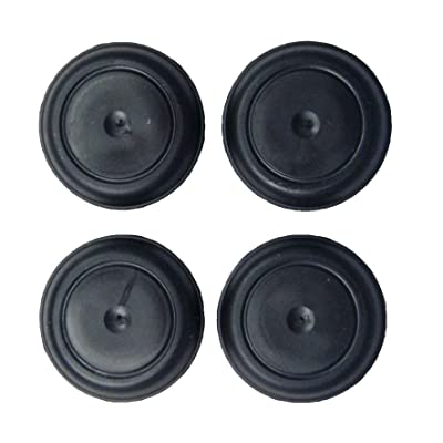 Upper Bound Set of 4 Rubber Body Floor Pan Drain Plugs for Jeep Wrangler TJ 1997 to 2006 Models: Automotive
