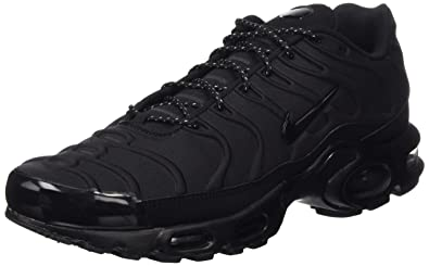 best loved f270c 11a4a NIKE 918240-002 Air Max Plus TN SE Black/Black-Black (10 UK)