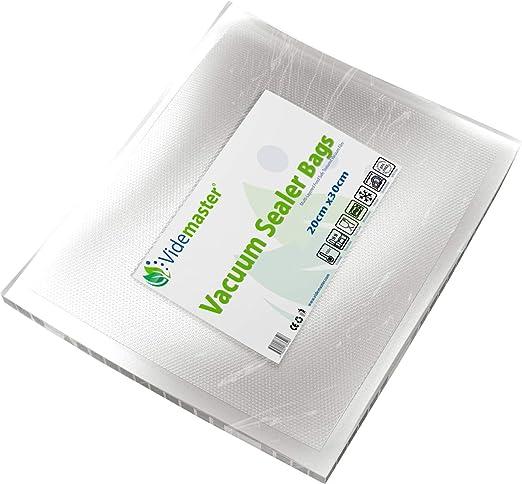 Videmaster - Bolsas selladoras de alimentos al vacío (20 cm ...