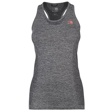 f2c54974e044b2 Karrimor Womens X Lite Running Vest Grey Marl 16 (XL)  Amazon.co.uk   Clothing