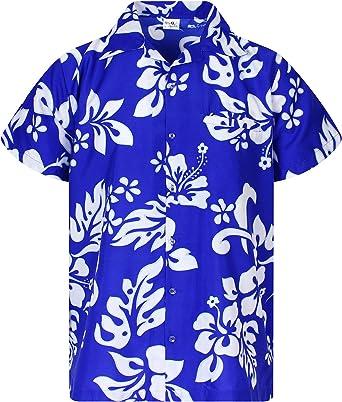Camisa Hawaiana para Hombre Funky Casual Button Down Very ...