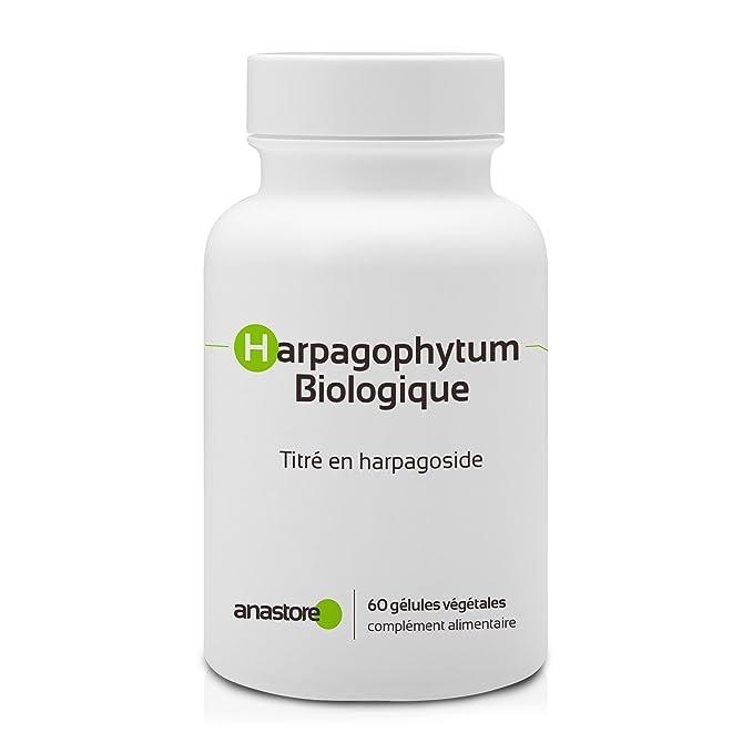 HARPAGOPHYTUM ECOLÓGICO * 400 mg / 60 cápsulas * Antiinflamatorios, Articulaciones (inflamación), Digestión * Garantía de satisfacción o reembolso * ...