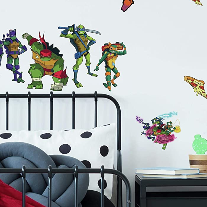 RoomMates Rise of The TMNT Peel and Stick Wall Decals