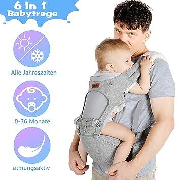 Bauchtrage Babytrage Tragetuch Babytragetuch Baby Trage Verschiedene Farben Neu