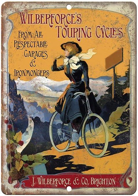 MiMiTee Wilberforce Touring Cycles Cartel De Chapa Placa ...