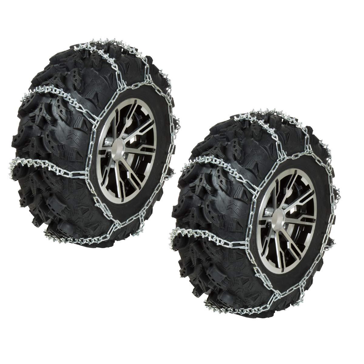 Raider 53 Inch 10 Inch TC1 53'' Length x 10'' Width ATV Tire Chain Set