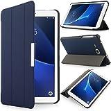 iHarbort® Samsung Galaxy Tab A 7.0 custodia in pelle, ultra sottile di peso leggero Case Cover custodia in pelle per Samsung Galaxy Tab A 7.0 pollice T280 T285 Holder, (Galaxy Tab A 7.0, Blu scuro)
