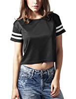 zeagoo tank top crop top damen bauchfrei eng top t shirt eu 38 asian l schwarz und wei eu. Black Bedroom Furniture Sets. Home Design Ideas