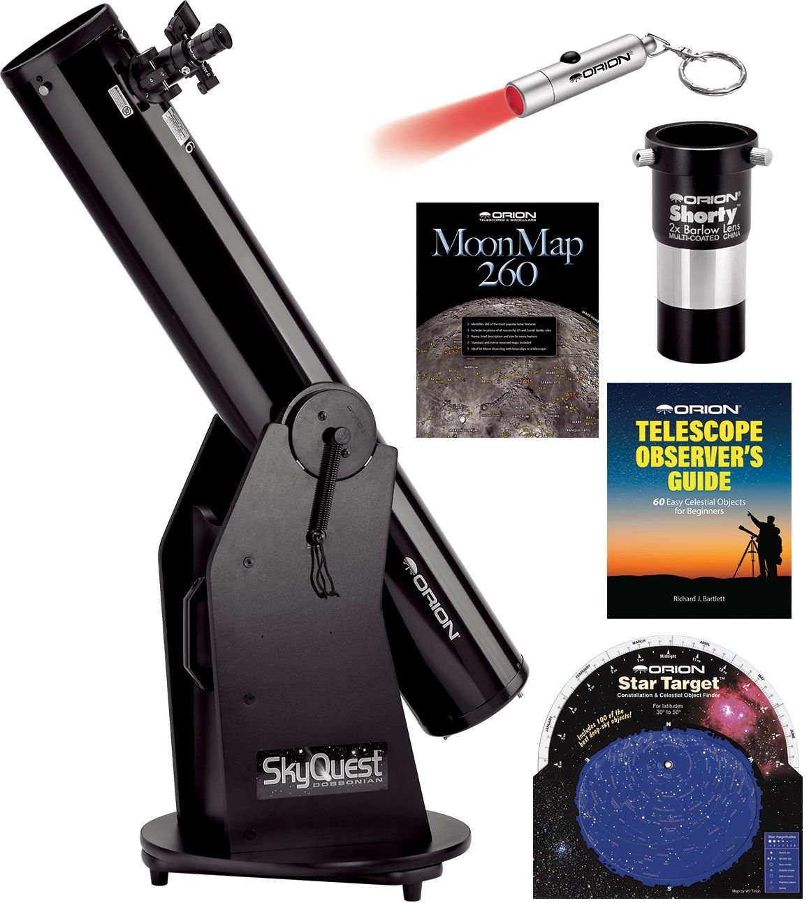 Orion SkyQuest XT6 Classic Dobsonian Telescope Kit by Orion
