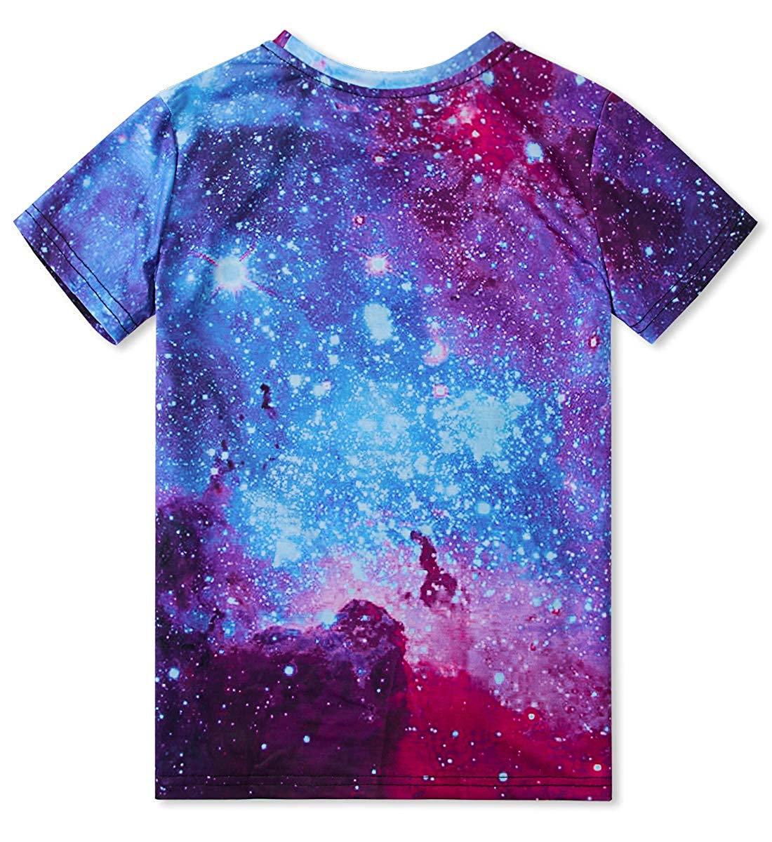 RAISEVERN Unisex Junge M/ädchen 3D Druck Lustige T-Shirt Sommer Casual Kurzarm Shirt Coole Crew Tees Top 6-16T