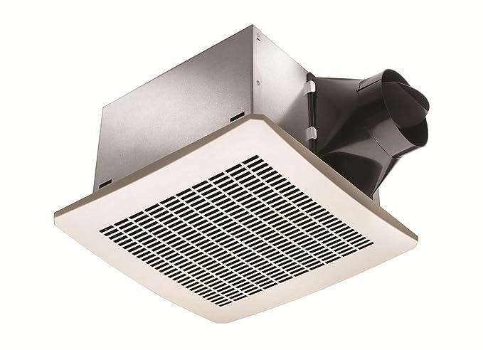 Delta BreezSignature VFB25AD 110 CFM Exhaust Bath Fan, 1 Sone ... on desk fan, closet fan, vent fan, water fan, airflow breeze register booster fan, cabinet fan, house fan, restroom fan, public toilet fan, proper venting bath fan, plug fan, panasonic heater fan, heating fan, golf fan, aubrey model 7550 bath ventilation fan, upblast fan,