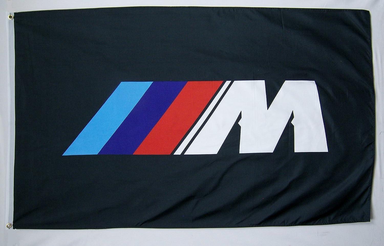 BMW M Racing Premium Flag 3/' x 5/' Indoor Outdoor Automotive Banner USA Seller