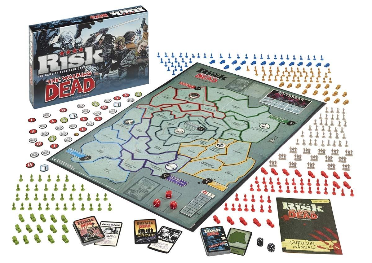 The Walking Dead Risk Board Game: Amazon.es: Libros en idiomas ...