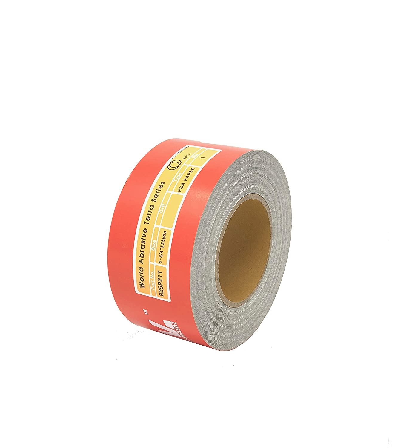 """60 Grit Gold Longboard 10 Yards Long by 2-3//4/"""" Wide PSA Self Adhesive Sandpaper"""
