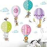 I Kinderzimmer Babyzimmer Aufkleber Sticker Wandaufkleber Wandsticker Klebeposter DL140 Little Deco Wandtattoo Einhorn /& Herz mit Fl/ügeln I S BxH 38 x 32 cm