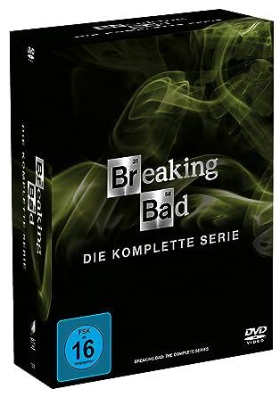 Breaking Bad Die Komplette Serie 21 Discs Amazonde Bryan