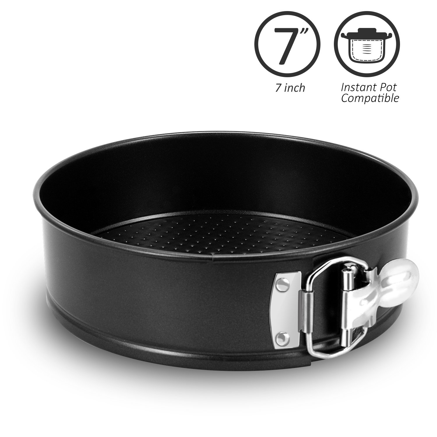 Fayy 7 Inch Springform Pan Compatible for Instant Pot Accessories and Pressure Cooker 6, 8 Quart