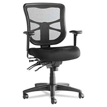 Amazing Alera Elusion Series Mesh Mid Back Multifunction Chair, Black