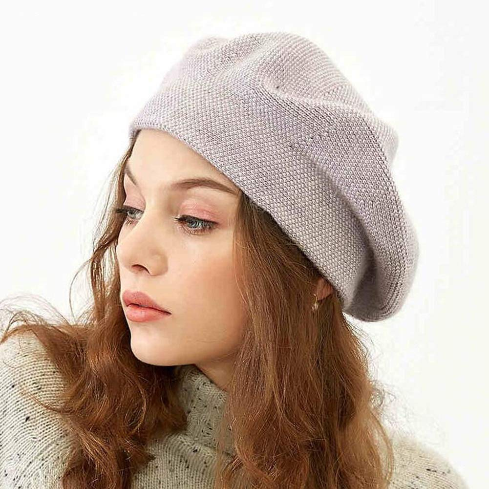 Color : Red, Size : One Size Hats /& Caps XUERUI Hat Beret Ladies Girls Classic Winter Autumn French Artist Octagonal Cap Stylish Soft Warm Fashion Style Christmas New Year Gift