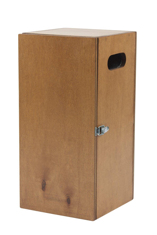 Bon Chef 840006W Wooden Box for Gravy Warmer, 9'' Width x 18-1/2'' Height x 9'' Depth, Dark Mahogany