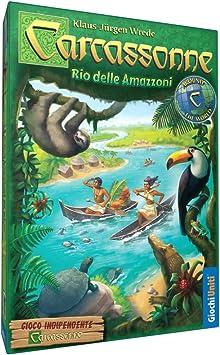 Giochi Uniti gu549 – Carcassonne Rio Delle amazzoni: Amazon.es: Juguetes y juegos